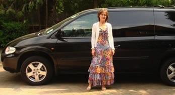 car and anna